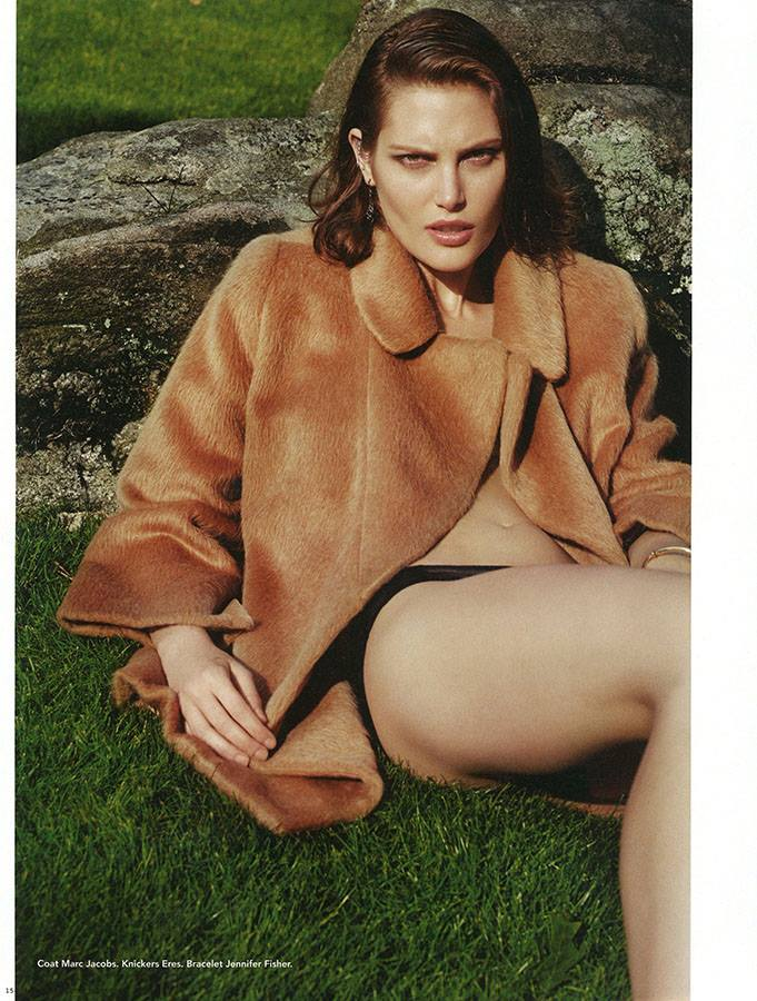 catherine mcneil photos10 Catherine McNeil Takes it Easy for i Ds Fall Issue by Collier Schorr