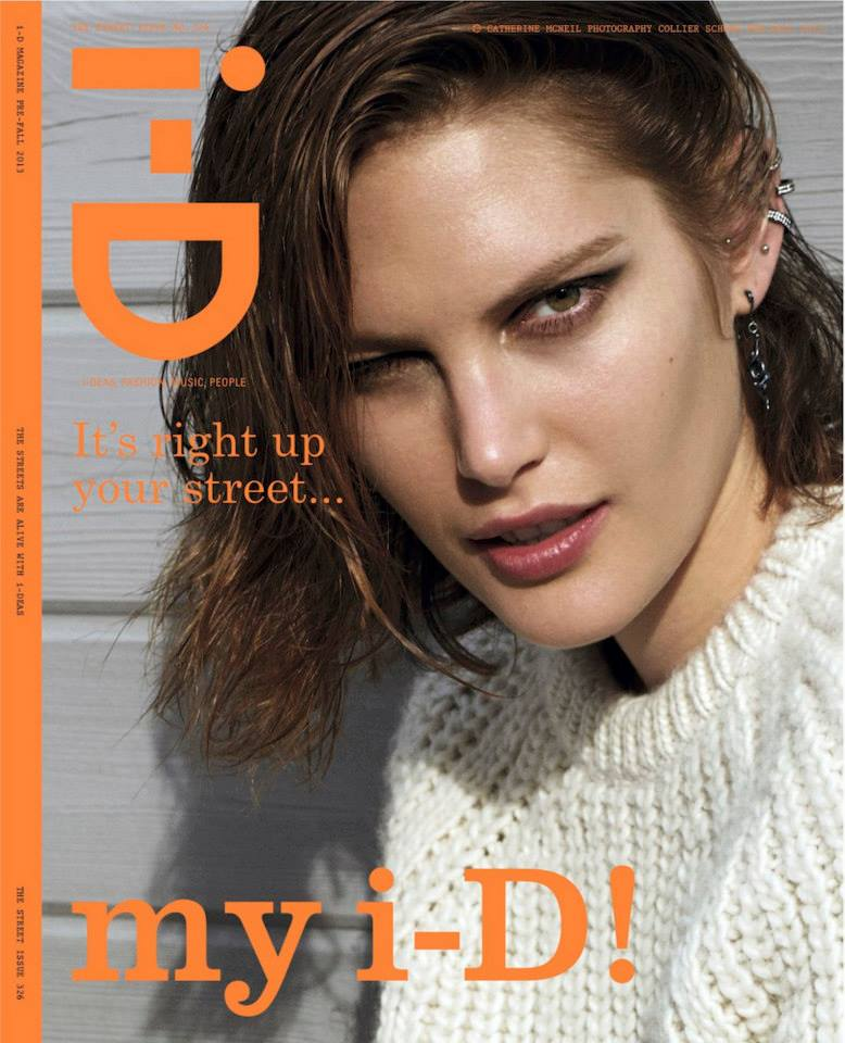 catherine mcneil photos11 Catherine McNeil Takes it Easy for i Ds Fall Issue by Collier Schorr