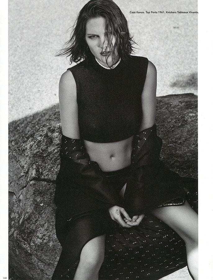 Catherine McNeil Takes it Easy for i-D's Fall Issue by Collier Schorr
