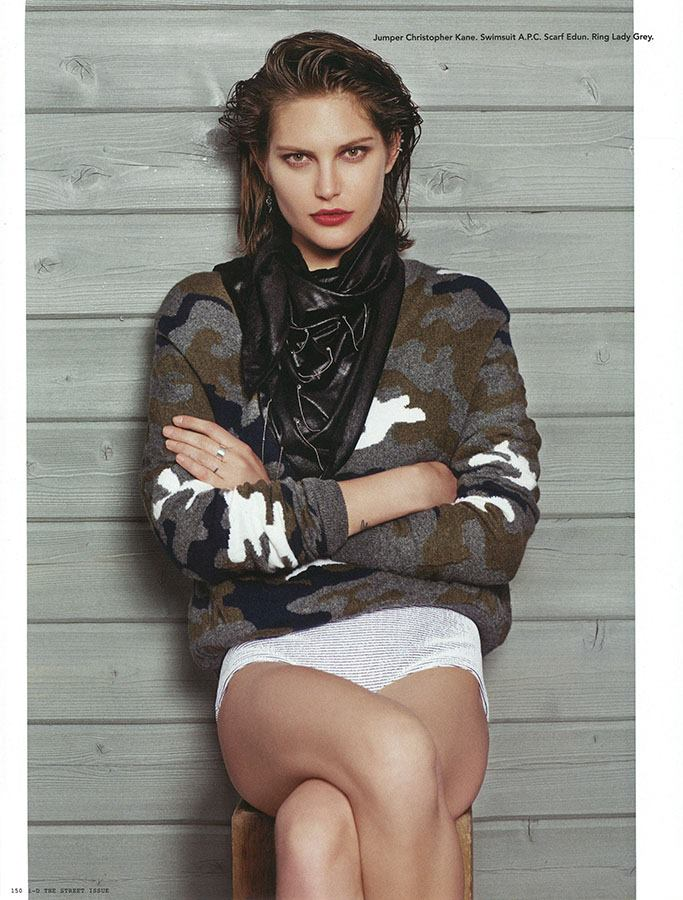 catherine mcneil photos8 Catherine McNeil Takes it Easy for i Ds Fall Issue by Collier Schorr