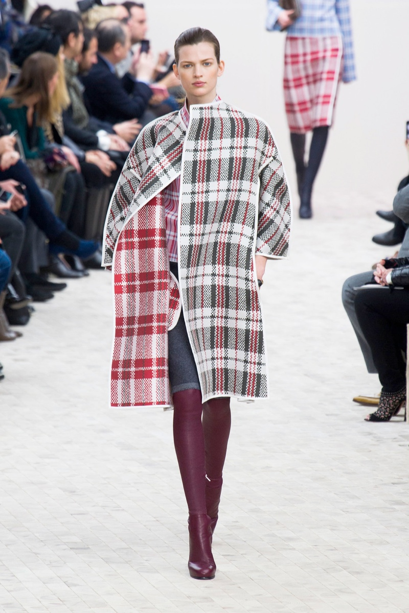 celine fall plaid look 6 Plaid Looks Inspired by Fall Runway Style
