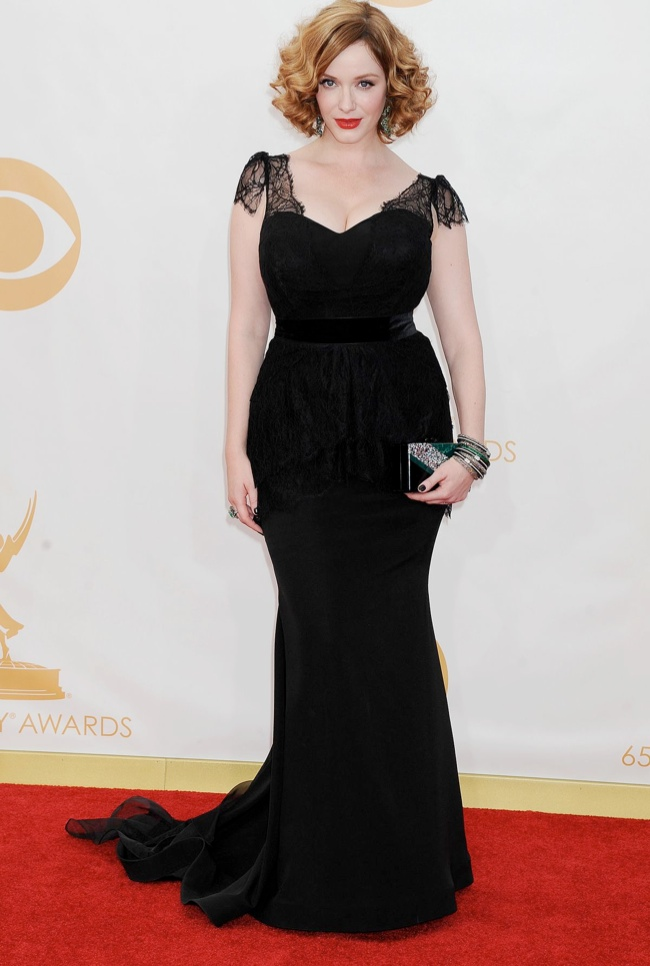 christina hendricks christian siriano Kerry Washington in Marchesa, Claire Danes in Armani + More EMMY Award Style