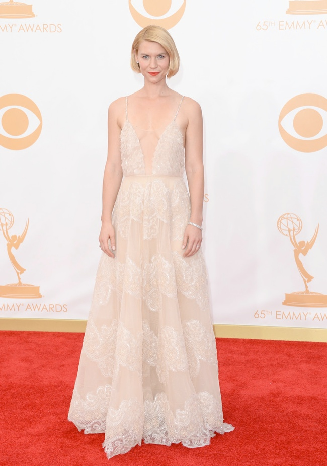 claire danes armani prive Kerry Washington in Marchesa, Claire Danes in Armani + More EMMY Award Style