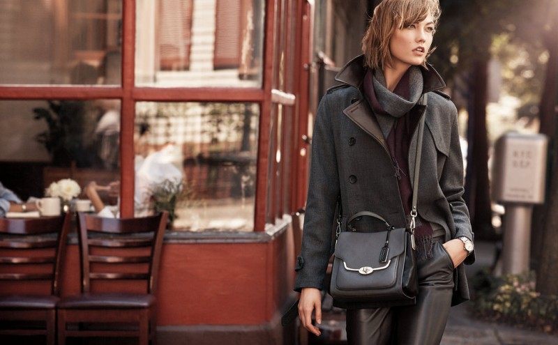 coach fall ads1 800x495 Karlie Kloss & Liu Wen Star in Coach Fall 2013 Campaign by Craig McDean