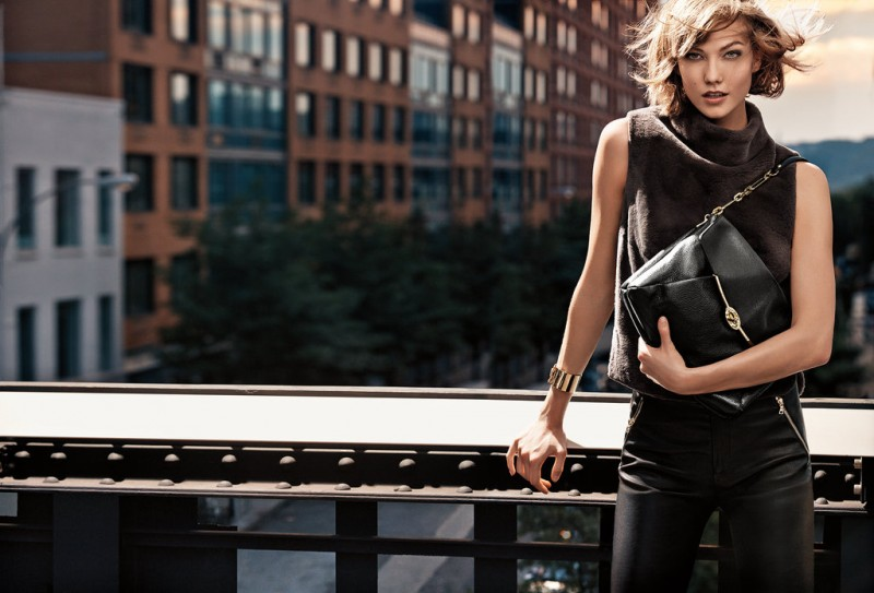 coach fall ads5 800x543 Karlie Kloss & Liu Wen Star in Coach Fall 2013 Campaign by Craig McDean
