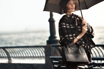 Karlie Kloss & Liu Wen Star in Coach Fall 2013 Campaign by Craig McDean