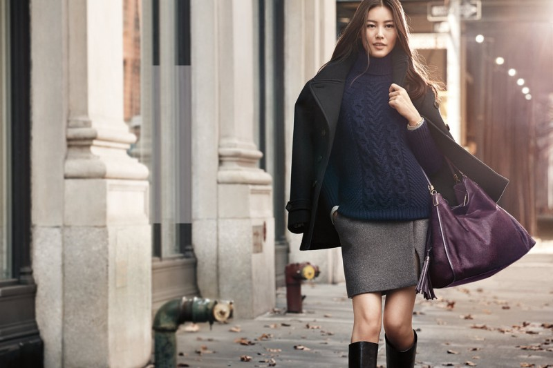 coach fall ads8 800x533 Karlie Kloss & Liu Wen Star in Coach Fall 2013 Campaign by Craig McDean