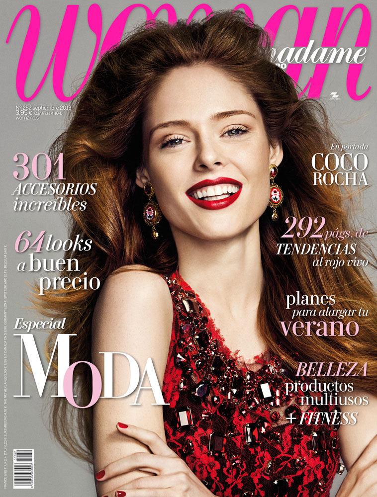 coco cover Coco Rocha Works It for Madame Figaro September 2013 by Richard Ramos