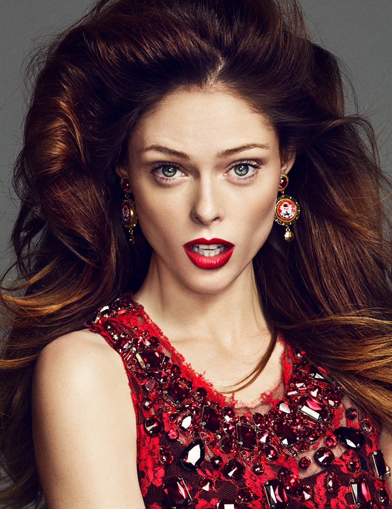 coco rocha images12 Coco Rocha Works It for Madame Figaro September 2013 by Richard Ramos