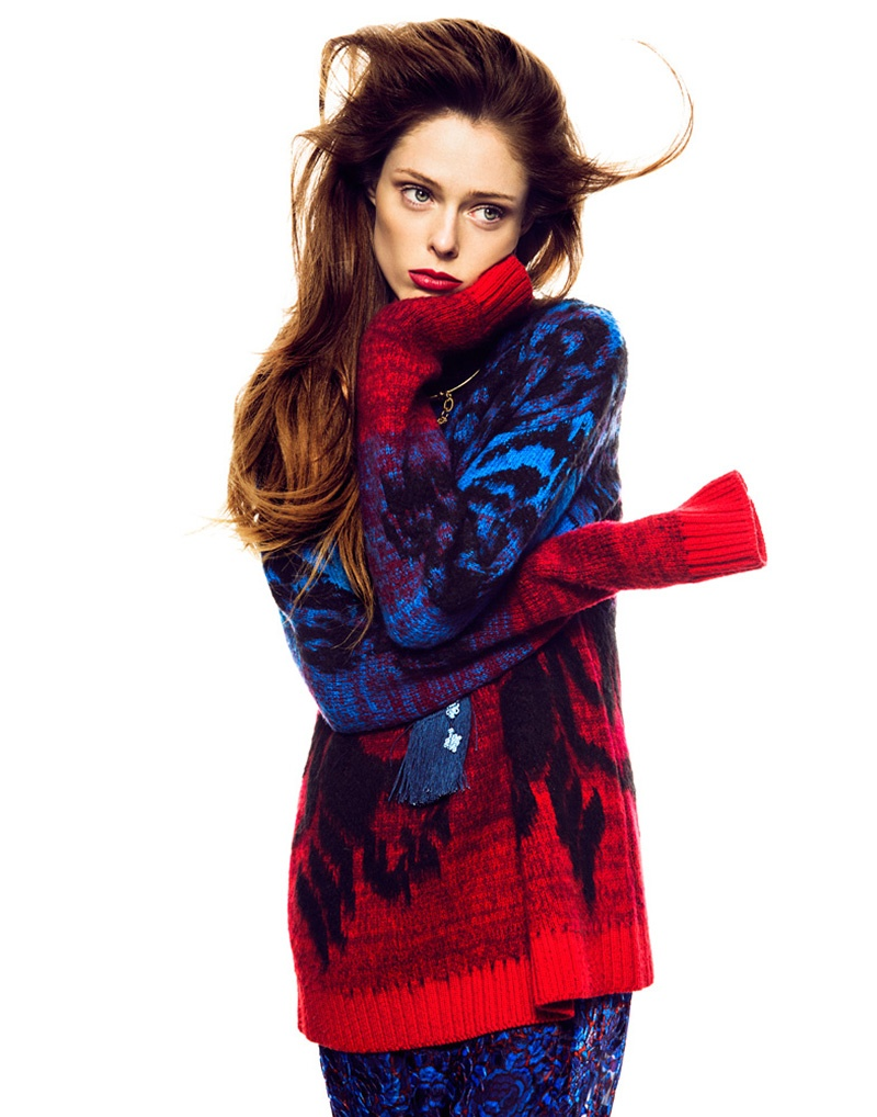 coco rocha images3 Coco Rocha Works It for Madame Figaro September 2013 by Richard Ramos