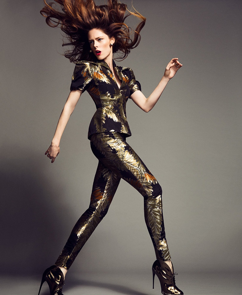 coco rocha images5 Coco Rocha Works It for Madame Figaro September 2013 by Richard Ramos