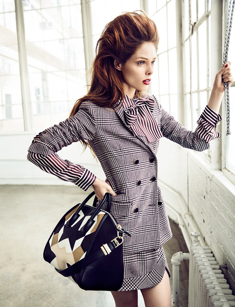 coco rocha images8 Coco Rocha Works It for Madame Figaro September 2013 by Richard Ramos