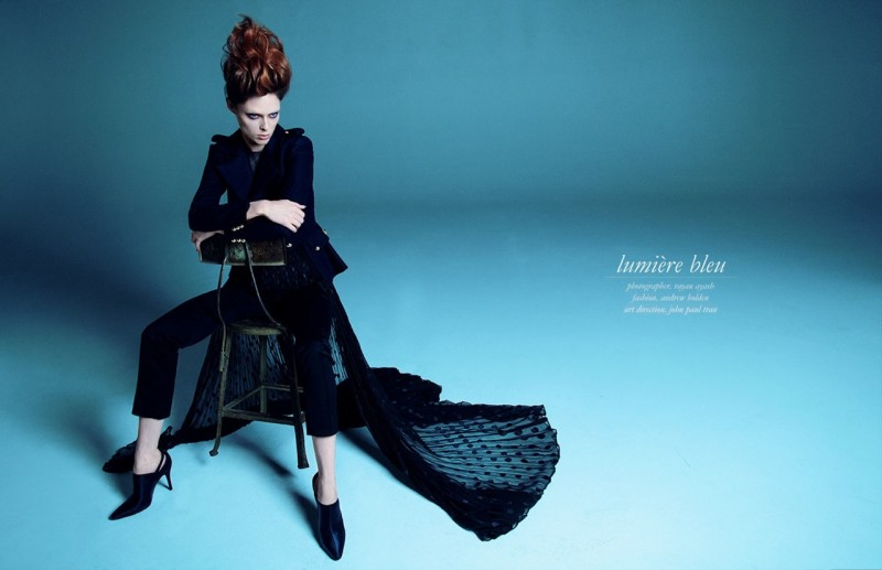 Coco Rocha Poses for Rayan Ayash in Schon #22 Shoot