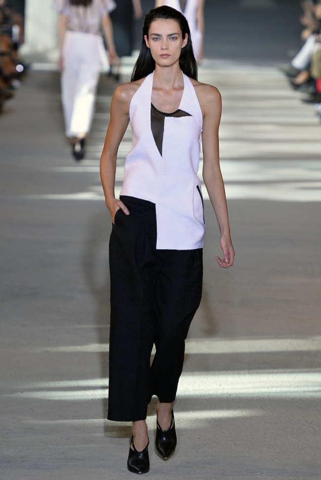 costume national Milan Fashion Week Spring/Summer 2014 Day 2 Recap | Prada, Just Cavalli, Max Mara + More