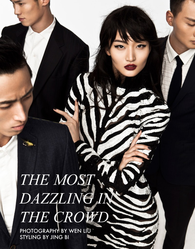 "Xu Liu by Wen Liu in ""The Most Dazzling in the Crowd"" for Fashion Gone Rogue"