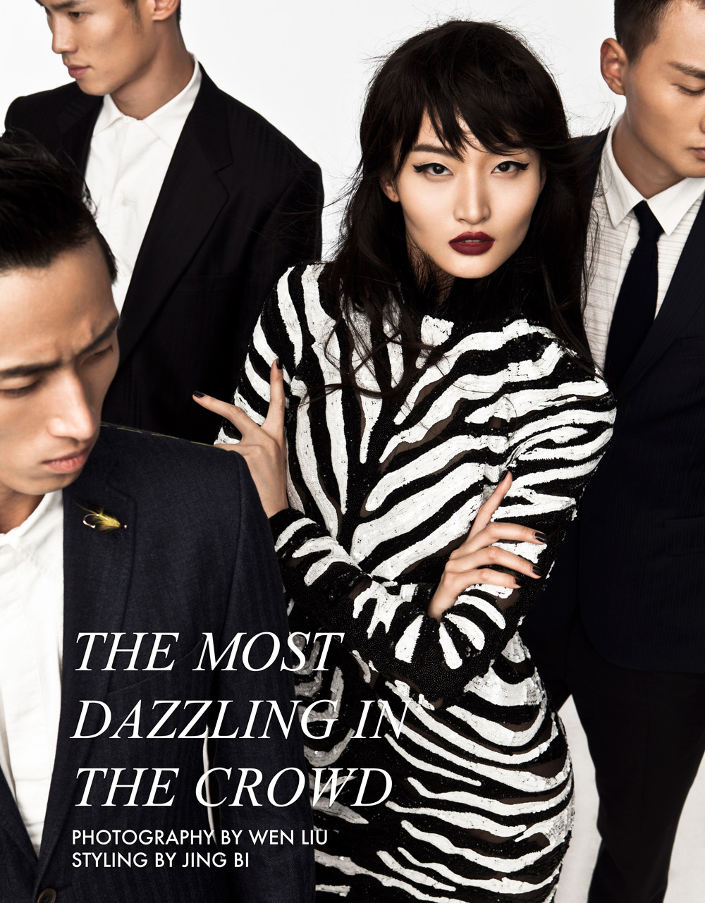 crowd Xu Liu by Wen Liu in The Most Dazzling in the Crowd for Fashion Gone Rogue
