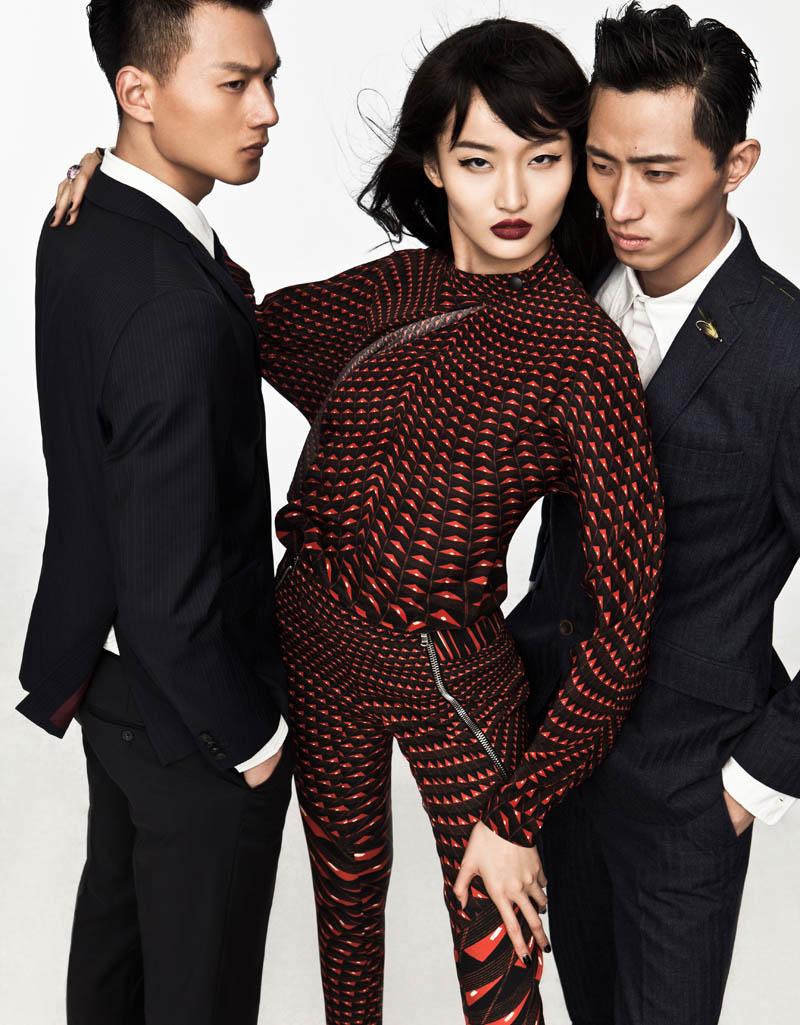 "Xu Liu by Wen Liu in ""The Most Dazzling in the Crowd"" for Fashion Gone Rogue"