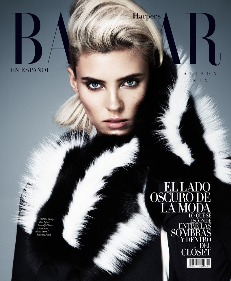 cruella fashion1 Alison Nix Channels Cruella de Vil for Harpers Bazaar Latin America by Jason Kim
