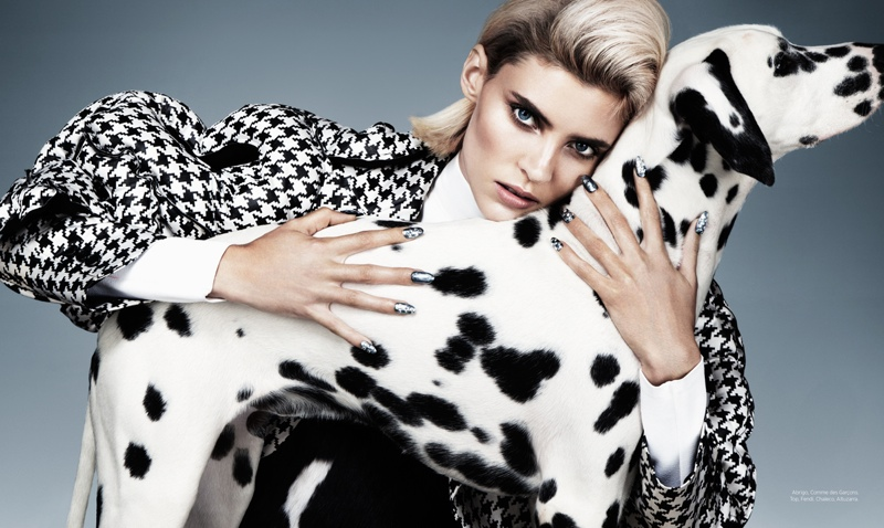 cruella fashion2 Alison Nix Channels Cruella de Vil for Harpers Bazaar Latin America by Jason Kim