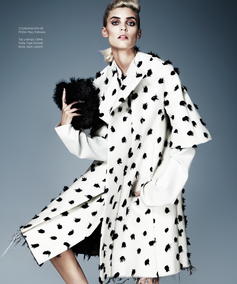 cruella fashion4 Alison Nix Channels Cruella de Vil for Harpers Bazaar Latin America by Jason Kim