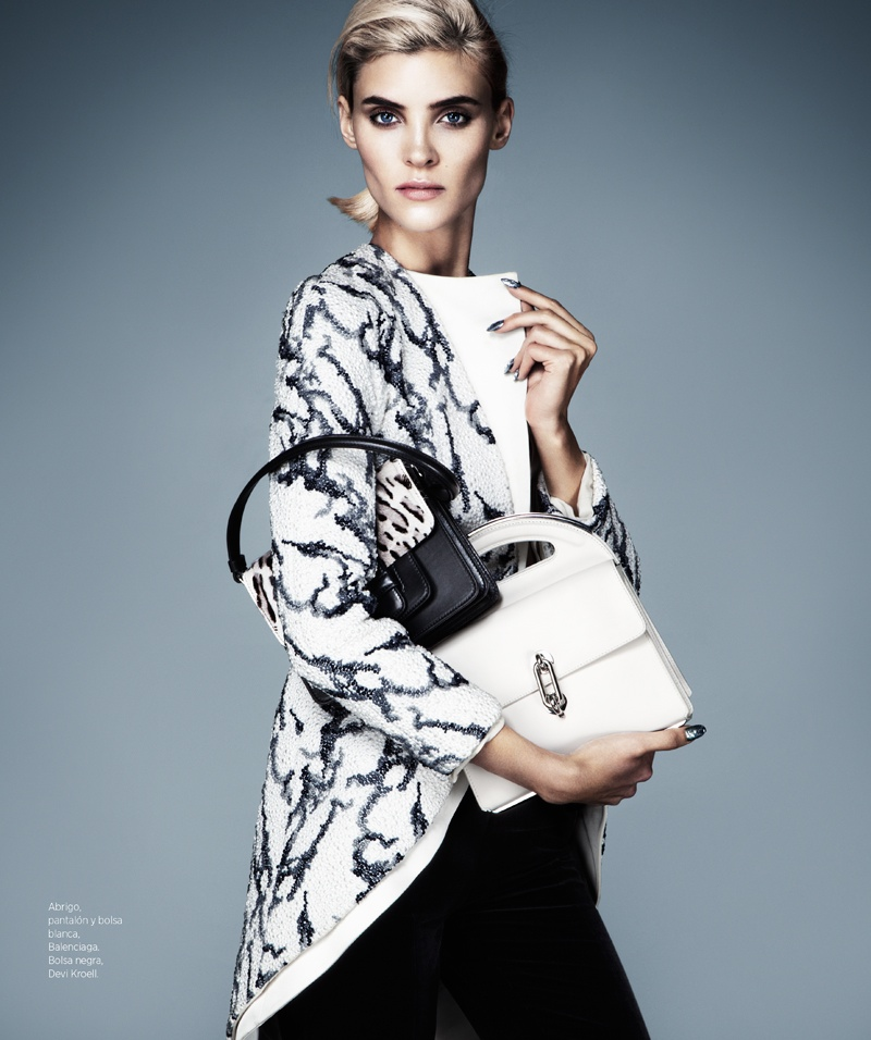 cruella fashion8 Alison Nix Channels Cruella de Vil for Harpers Bazaar Latin America by Jason Kim