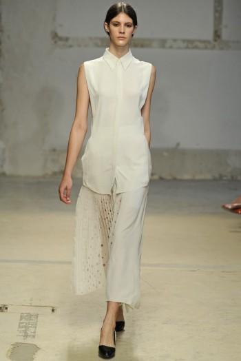 Paris Fashion Week Spring/Summer 2014 Day 2 Recap   Dries van Noten, Gareth Pugh, Rochas + More