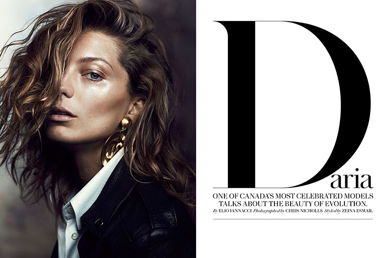 daria fashion1 Daria Werbowy Stuns for Chris Nicholls in Fashion Magazine Feature