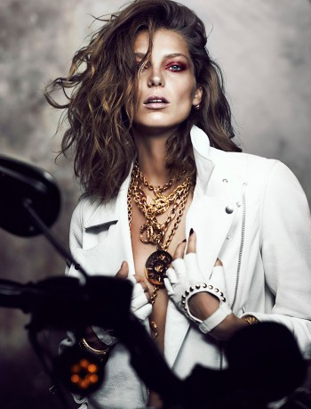 Daria Werbowy Stuns for Chris Nicholls in Fashion Magazine Feature