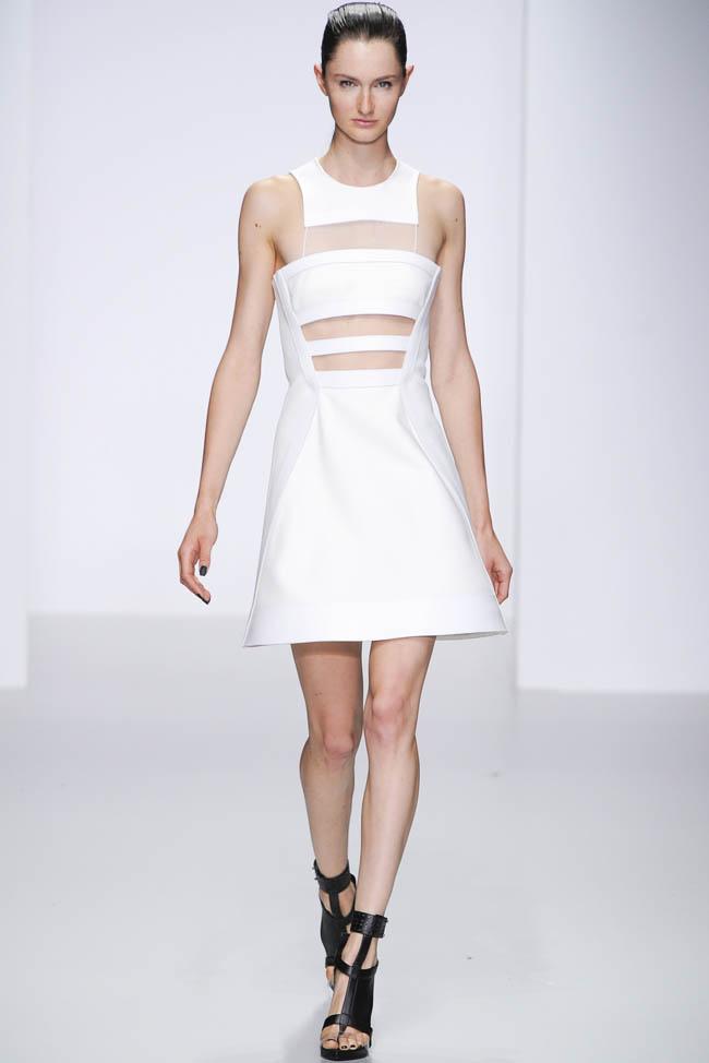 David Koma Spring 2014 London Fashion Week Fashion