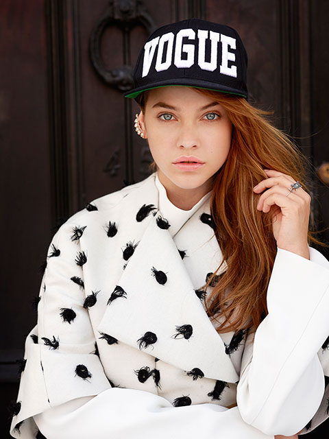 david mushegain11 Barbara Palvin & Stella Maxwell Hit the Streets for David Mushegain in Vogue Japan