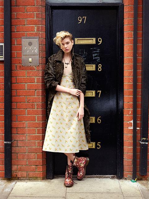 Barbara Palvin & Stella Maxwell Hit the Streets for David Mushegain in Vogue Japan