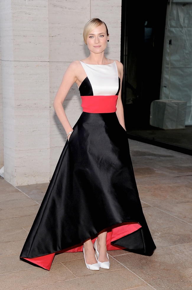 diane kruger prabal gurung1 Diane Kruger Wears Prabal Gurung at The Metropolitan Opera