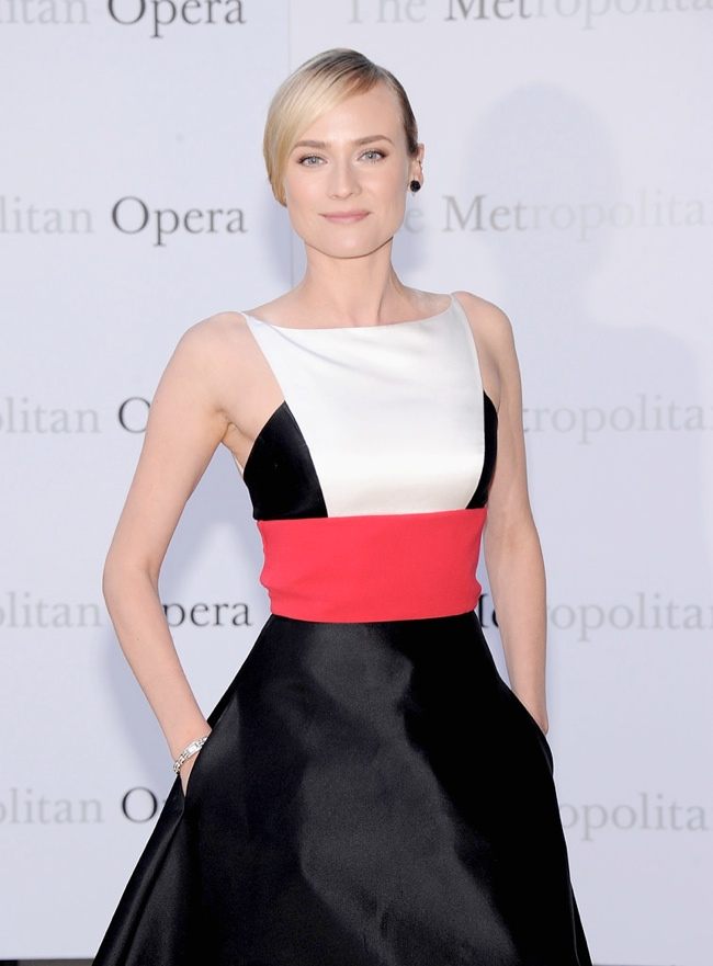 diane kruger prabal gurung3 Diane Kruger Wears Prabal Gurung at The Metropolitan Opera