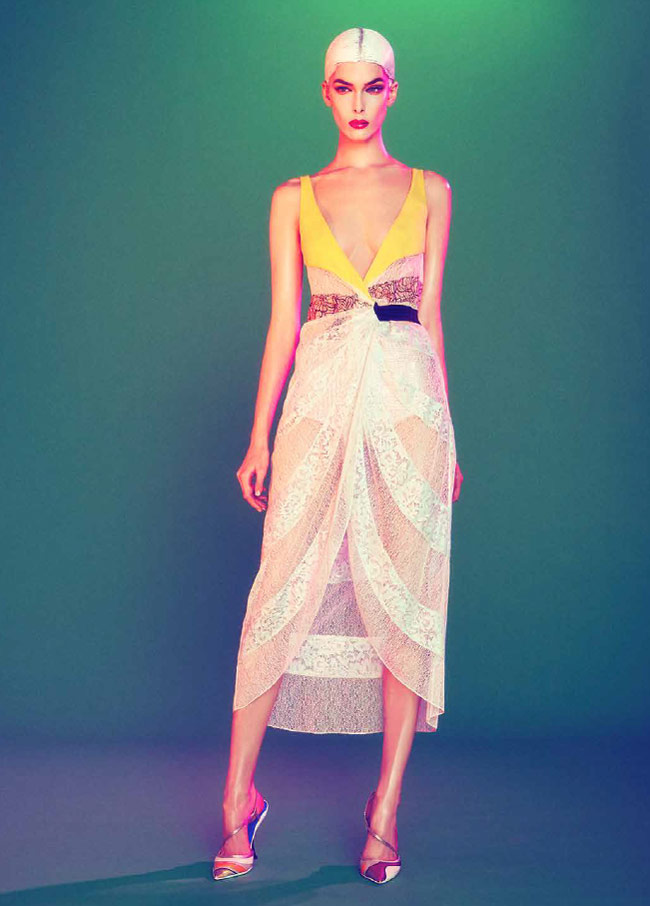 dior sofia mauro2 Kristina Salinovic Wows in Dior for Modern Weekly by Sofia & Mauro