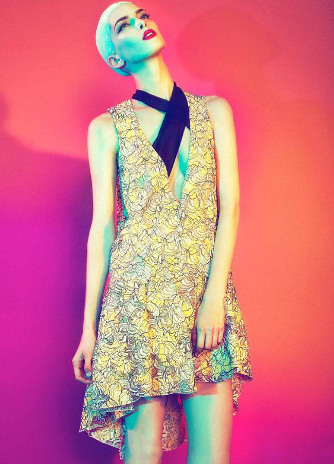 dior sofia mauro3 Kristina Salinovic Wows in Dior for Modern Weekly by Sofia & Mauro