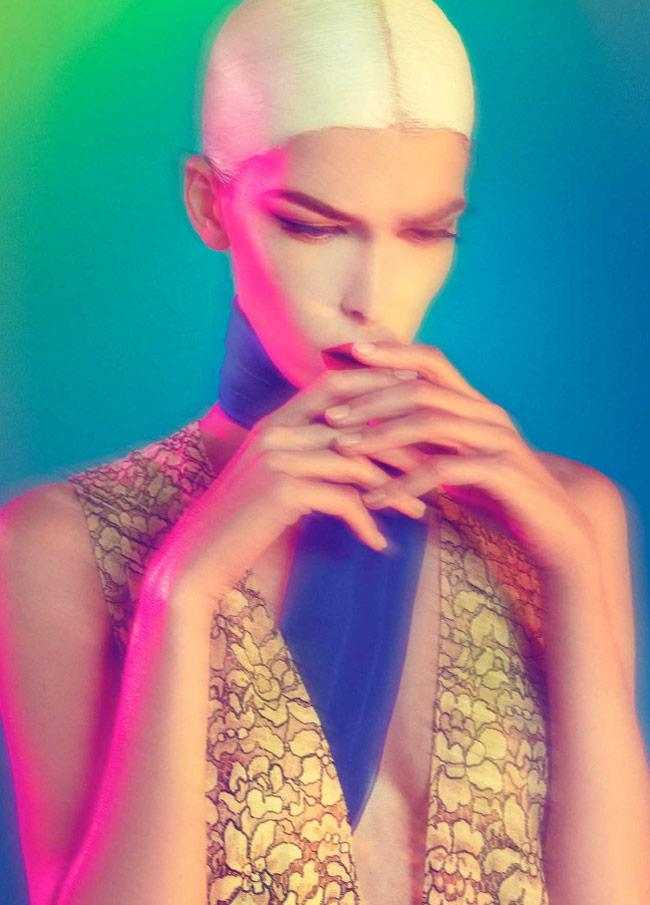 dior sofia mauro4 Kristina Salinovic Wows in Dior for Modern Weekly by Sofia & Mauro