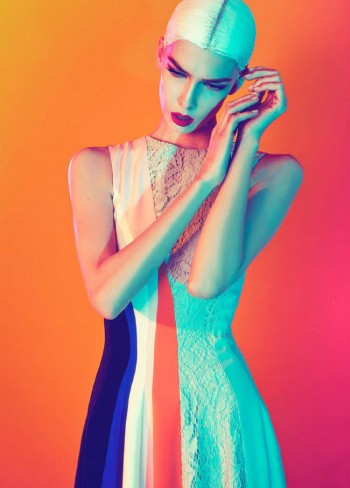 Kristina Salinovic Wows in Dior for Modern Weekly by Sofia & Mauro