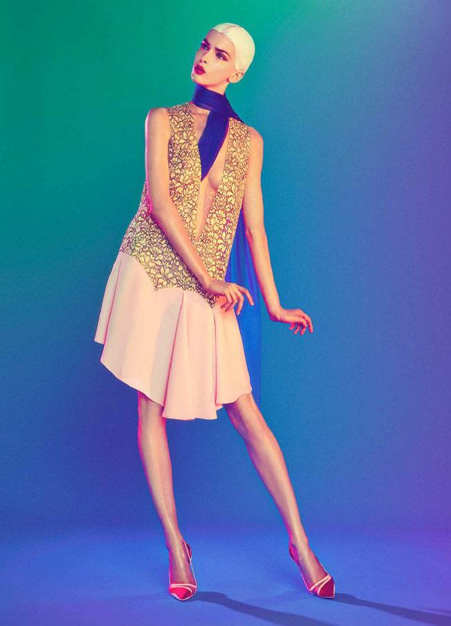 dior sofia mauro6 Kristina Salinovic Wows in Dior for Modern Weekly by Sofia & Mauro