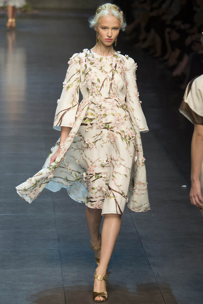 dolce gabbana spring 2014 2 5 Amazing Milan Fashion Week Spring/Summer 2014 Trends