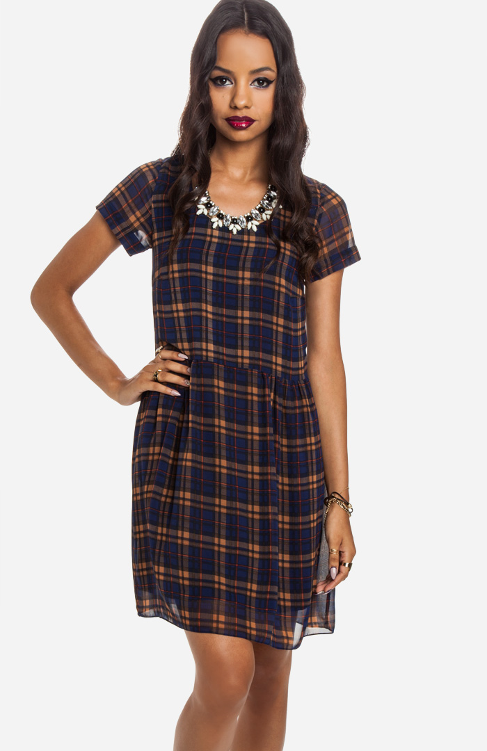 dolce vita plaid dress 6 Plaid Looks Inspired by Fall Runway Style
