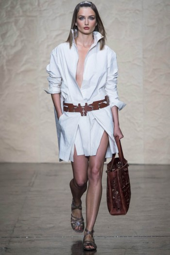donna karen spring 2014 20 350x524 Donna Karan Spring 2014 | New York Fashion Week
