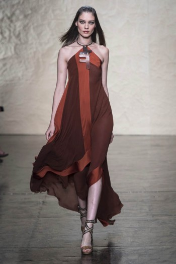 donna karen spring 2014 36 350x524 Donna Karan Spring 2014 | New York Fashion Week