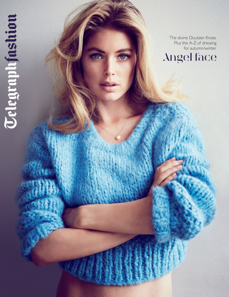 doutzen fashion1 Doutzen Kroes Stars in Sunday Telegraph Spread by Will Davidson