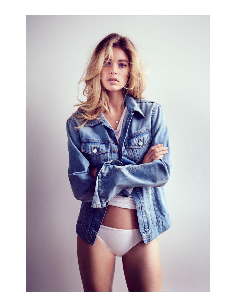 doutzen fashion4 Doutzen Kroes Stars in Sunday Telegraph Spread by Will Davidson