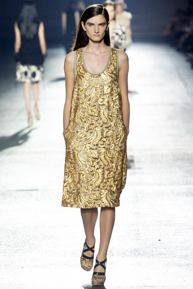 dries van noten spring 2014 40 5 Stunning Paris Fashion Week Spring/Summer 2014 Trends