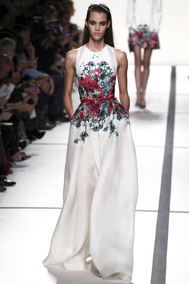 elie saab spring 2014 31 5 Stunning Paris Fashion Week Spring/Summer 2014 Trends