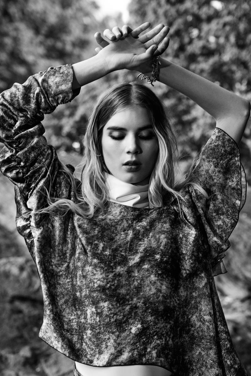 Elsa Sylvan Stuns in Rodarte with Gravure Feature by Elle Muliarchyk