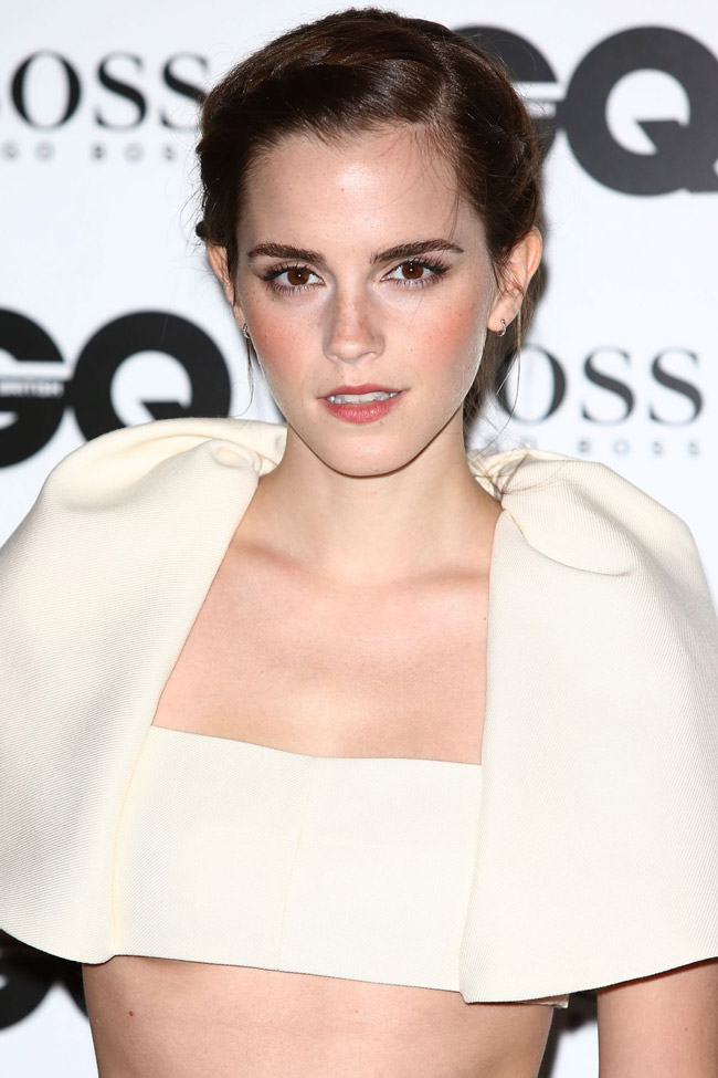Emma Watson Wears Balenciaga at the 2013 GQ Men of the Year Awards