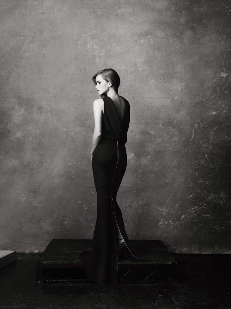 Emma Watson Dazzles in NET-A-PORTER Shoot Featuring Eco-Friendly Fashion