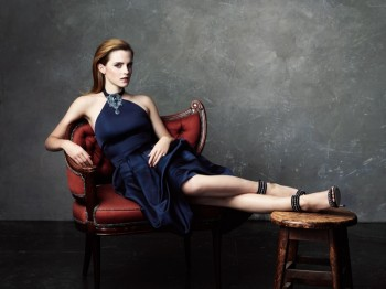 Emma Watson Dazzles in NET-A-PORTER Shoot Featuring Eco-Friendly Fashion